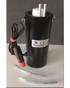 Auftaugerät 'Spermatherm Elektronik 2', 12 Volt, mit Universalstecker KFZ